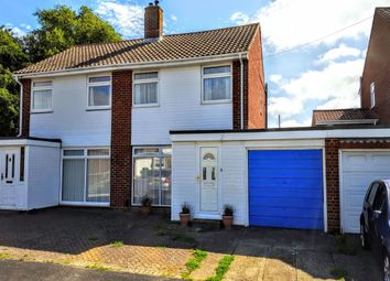 Thumbnail 3 bed semi-detached house for sale in Stoneleigh Close, Fareham