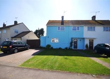 Thumbnail 3 bed semi-detached house for sale in Upton Crescent, Basingstoke, Hampshire