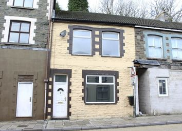 Thumbnail 4 bed terraced house for sale in East Road, Tylorstown -, Ferndale