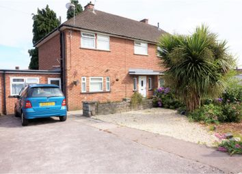 Thumbnail 3 bedroom semi-detached house for sale in Llanon Road, Llanishen