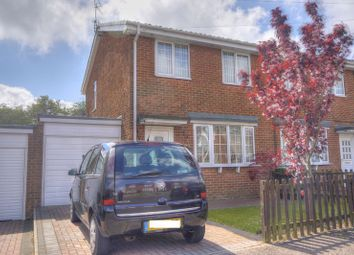 Thumbnail 3 bed semi-detached house for sale in Kings Park, Scotland Gate, Choppington