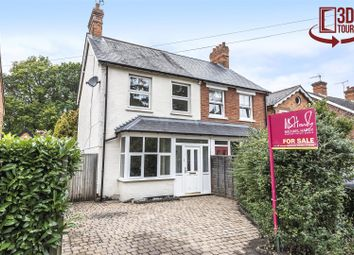 Thumbnail 3 bed semi-detached house for sale in New Wokingham Road, Crowthorne, Berkshire