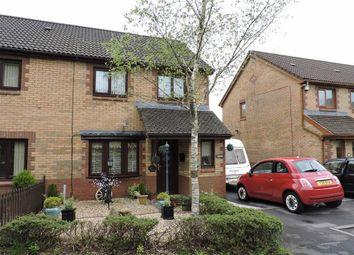 Thumbnail 3 bed semi-detached house for sale in Cae Rhedyn, Rhos, Pontardawe, Swansea
