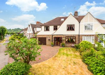 Thumbnail 5 bed semi-detached house for sale in Greenhill Avenue, Caterham, Surrey
