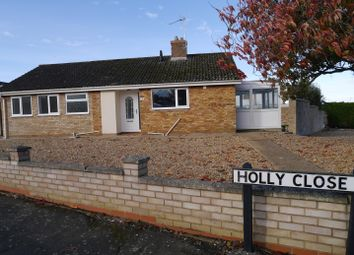 Thumbnail 3 bedroom detached bungalow to rent in Holly Close, Downham Market