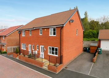 Thumbnail 3 bedroom semi-detached house for sale in Larkspur Drive, Newton Abbot