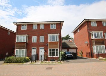 Thumbnail 4 bed town house for sale in Jack Sadler Way, The Rydons, Exeter