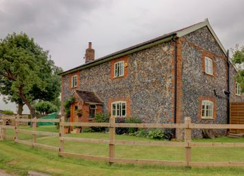 Thumbnail 4 bed cottage for sale in Badwell Road, Wyverstone, Stowmarket