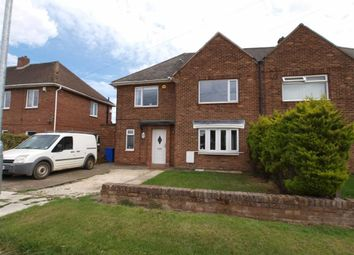 Thumbnail 4 bed semi-detached house for sale in Chatton Avenue, Cramlington