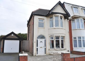 Thumbnail 3 bedroom semi-detached house for sale in Ventnor Road, South Shore, Blackpool