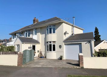 Thumbnail 6 bed semi-detached house for sale in Priory Avenue, Bridgend