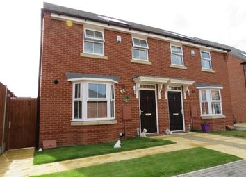Thumbnail 3 bed semi-detached house for sale in Moore Close, Horsford, Norwich