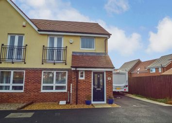 Thumbnail 3 bed semi-detached house for sale in Hindmarsh Drive, Ashington