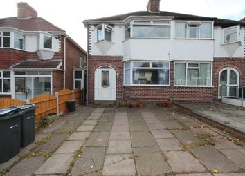 Thumbnail 3 bed semi-detached house to rent in Perrywood Road, Great Barr Birmingham