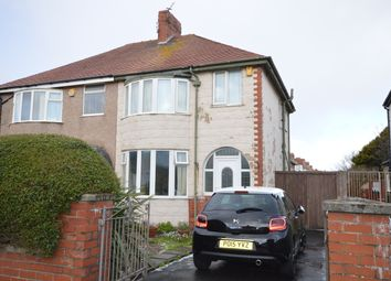 Thumbnail 3 bed semi-detached house to rent in Albany Avenue, Blackpool