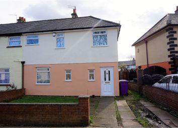 Thumbnail 3 bed semi-detached house for sale in Crosgrove Road, Liverpool