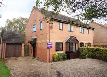 Thumbnail 3 bedroom semi-detached house for sale in Fletcher Way, Acle, Norwich