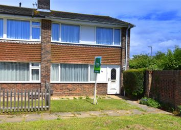 Thumbnail 3 bed end terrace house for sale in Daniel Close, Lancing, West Sussex