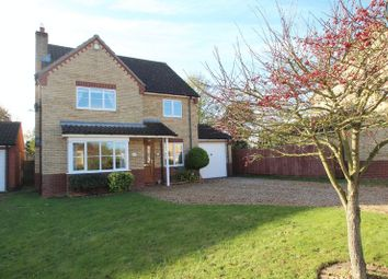 Thumbnail 4 bed detached house for sale in Bramley Road, Dereham