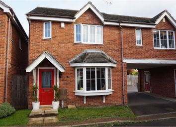 Thumbnail 3 bed town house for sale in Stanier Way, Sheffield