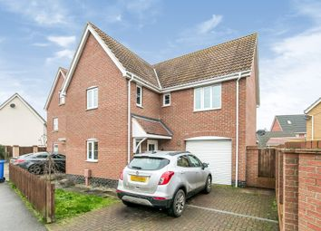Thumbnail 4 bed detached house for sale in Spicer Way, Great Cornard, Sudbury