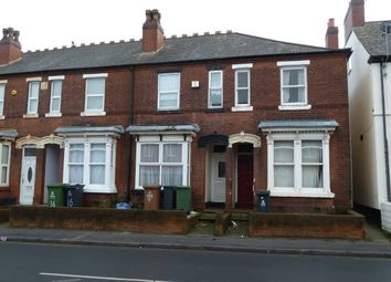 Thumbnail 2 bed end terrace house for sale in Walsall Road, Willenhall