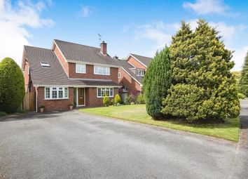 Thumbnail 4 bed detached house for sale in Wheat Moss, Chelford, Cheshire, Uk
