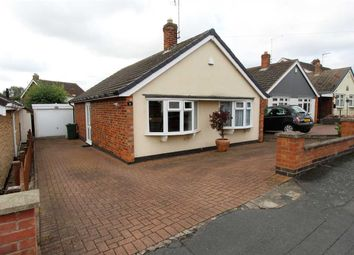 Thumbnail 2 bed detached bungalow for sale in Bencroft Close, Anstey, Leicester