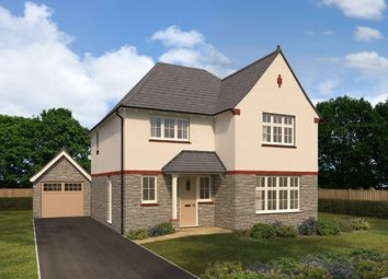"Thumbnail 4 bed detached house for sale in ""Cambridge"" at Cae Newydd, St. Nicholas, Cardiff"
