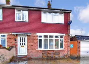 Thumbnail 3 bedroom semi-detached house for sale in Gybbon Rise, Staplehurst, Tonbridge, Kent