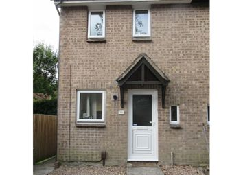 Thumbnail 2 bed end terrace house to rent in Lavington Close, Plympton, Plymouth