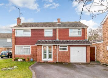 Thumbnail 5 bed detached house for sale in Amberley Drive, Woodham, Addlestone