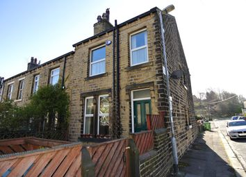 Thumbnail 2 bedroom end terrace house for sale in May Street, Crosland Moor, Huddersfield
