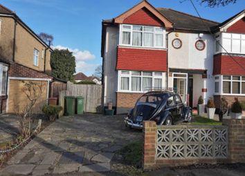 Thumbnail 3 bed semi-detached house for sale in Salcott Road, Croydon