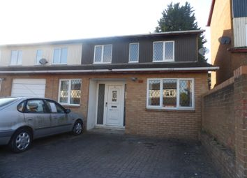 Thumbnail 3 bedroom end terrace house for sale in Arbrook Avenue, Bradwell Common, Milton Keynes