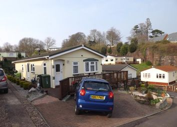 Thumbnail 2 bedroom mobile/park home for sale in Exonia Park, Exeter, Devon