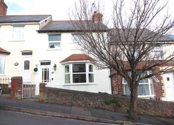 Thumbnail 3 bed terraced house for sale in Dugdale Street, Minehead