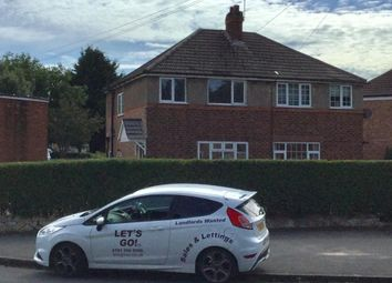 Thumbnail 3 bed semi-detached house to rent in Chamberlain Crescent, Solihull
