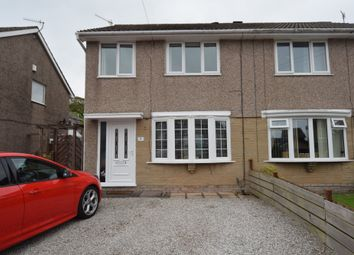 Thumbnail 3 bed semi-detached house for sale in Foxfield Close, Askam-In-Furness, Cumbria