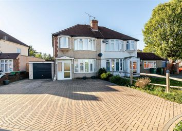 Thumbnail 3 Bed Semi Detached House For Sale In St Margarets Avenue Cheam