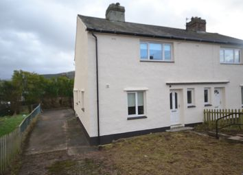 Thumbnail 2 bed semi-detached house to rent in Clayton Avenue, Cleator Moor, Cumbria