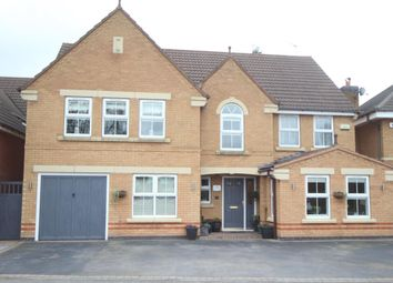 Thumbnail 5 bed detached house for sale in Troon Way, Burbage, Hinckley