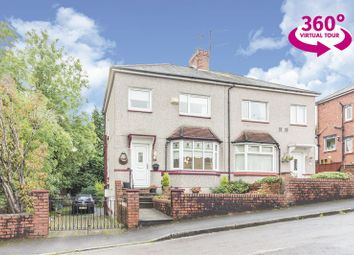 Thumbnail 3 bedroom semi-detached house for sale in Tudor Road, Newport