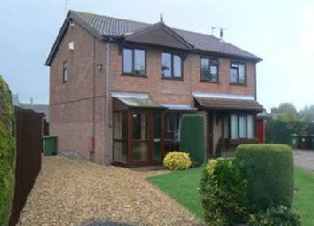 Thumbnail 2 bed semi-detached house to rent in Woodrush Road, Lincoln, Lincolnshire.