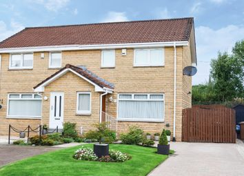 Thumbnail 3 bed semi-detached house for sale in Cloverleaf Path, Alexandria, West Dunbartonshire