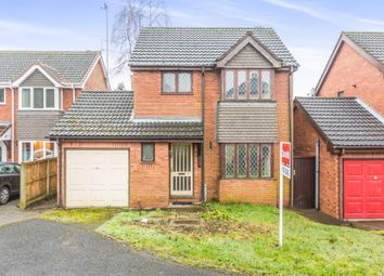 Thumbnail 3 bedroom detached house for sale in Bradleys Close, Cradley Heath