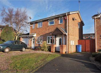 Thumbnail 2 bed semi-detached house for sale in Slindon Croft, Alvaston, Derby