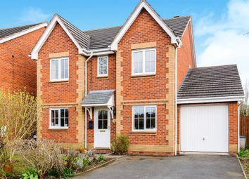 Thumbnail 4 bed detached house for sale in Hever Road, Lower Bullingham, Hereford