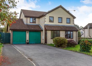 Thumbnail 4 bed detached house for sale in Priddy Close, Frome