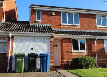Thumbnail 3 bed semi-detached house for sale in Felspar Road, Mercian Park, Tamworth